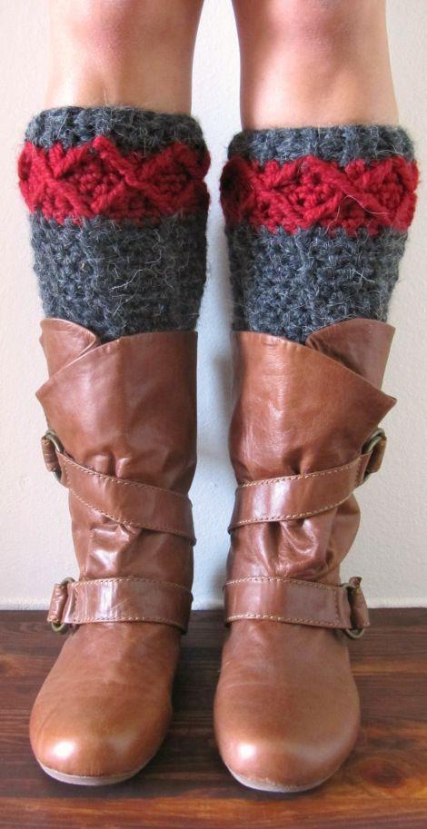 Knitting Pattern For Stirrup Leg Warmers : free pattern crochet leg warmers Crochet Pinterest Free pattern, Legs a...