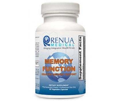 Renua Medical Memory Function 60c Supplement For Brain Tissue And Cognitive Function