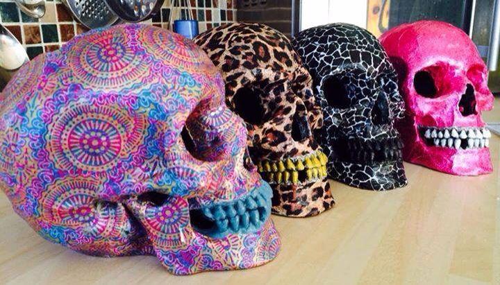Sugars skulls.                                                                                                                                                                                 More
