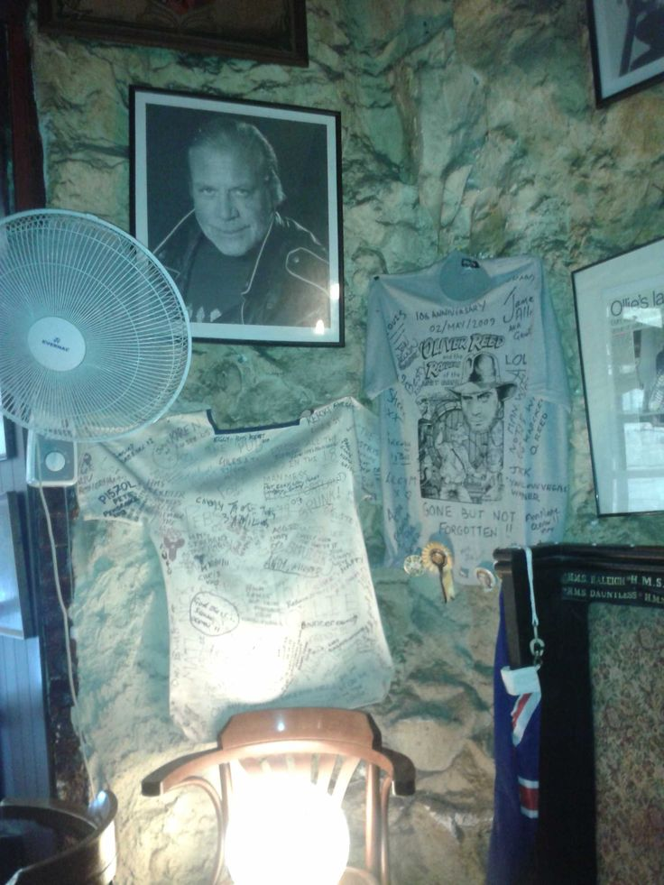 'The Pub' where Oliver Reed passed away