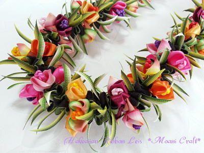 Ribbon Lei Making♪ – #lei #Making #ribbon