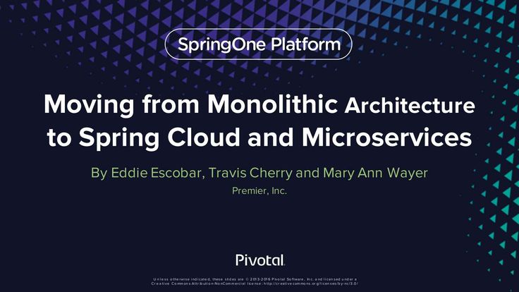 Travis Cherry and Mary Ann Wayer discuss their historical monolithic architectural patterns, building applications for jBoss with server-side rendering, their experiences and lessons learned moving to Spring MVC single page apps, their decision to move to a microservices oriented architecture, and how they leveraged Spring Boot to get there and how they use Netflix OSS / Spring Cloud.
