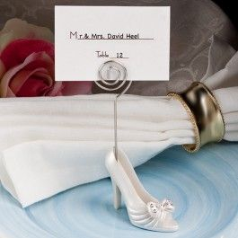 from our high heel shoe favors the whimsical shoe design place card holders can be used to hold both small photos and place cards making them a versatile