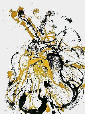 Arman (1928-2005)  - Empreintes de violon -Nouveau réalisme