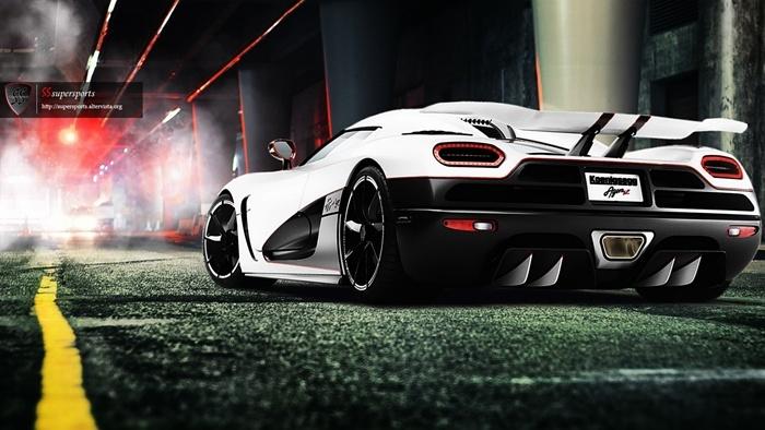 SSsupersports | Koenigsegg Agera R Dark Tunnel