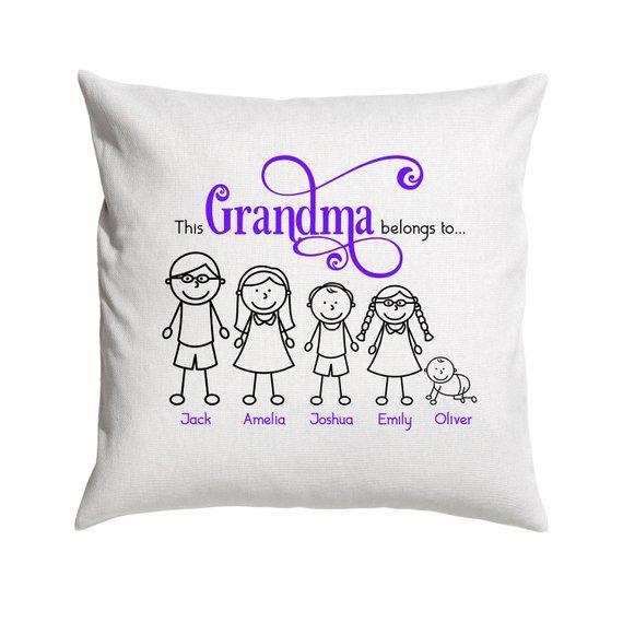 grandma pillow personalised cushions