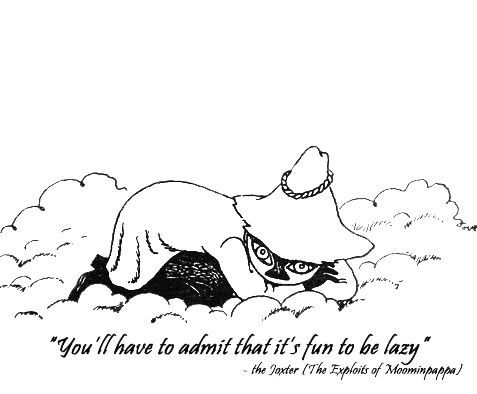 More Moomin quotes http://moominfans.com/?p=69