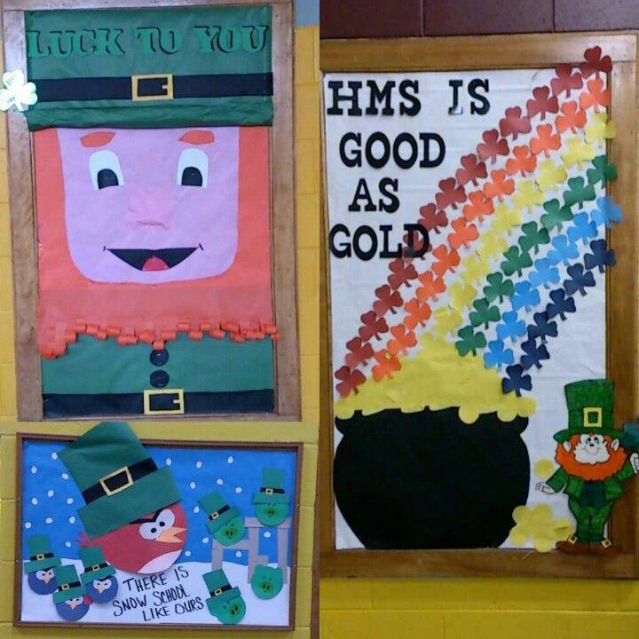 St Patrick's day bulletin boards