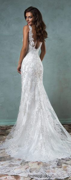 102 best Atemberaubende Hochzeitskleider images on Pinterest   Short ...