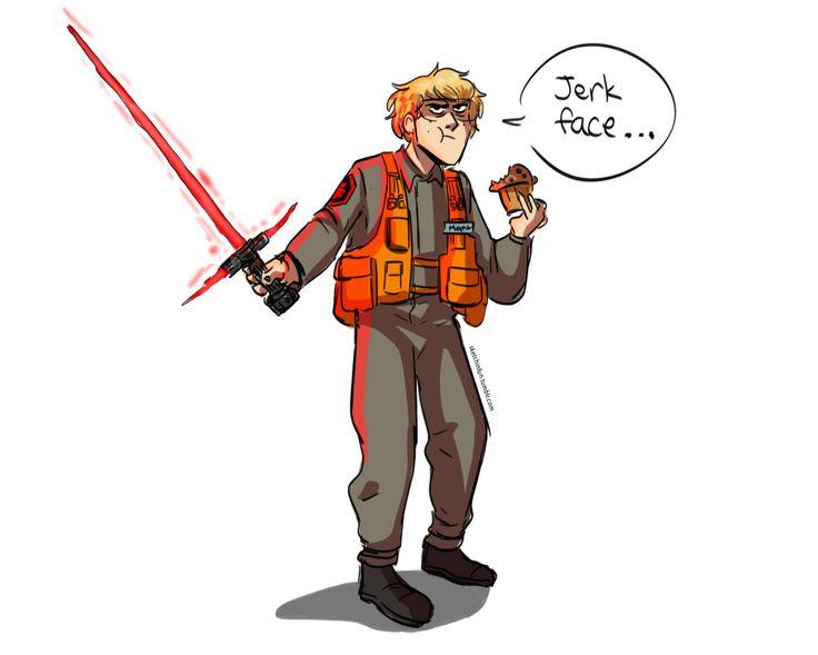 I'm 90% sure that Matt is Kylo Ren I couldn't resist drawing another Matt the Radar Technician.