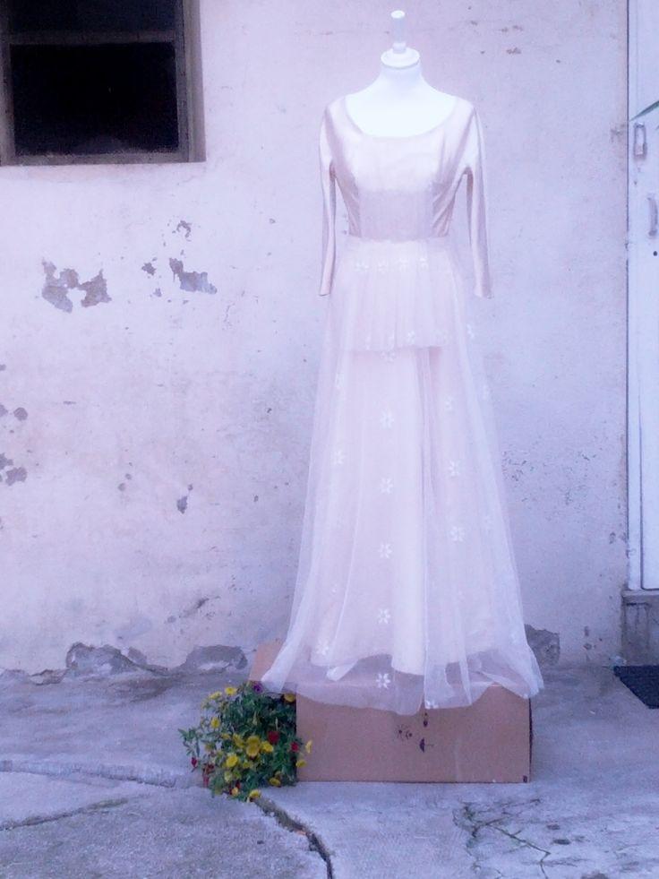 Abito sposa vintage riadattato, by Manù