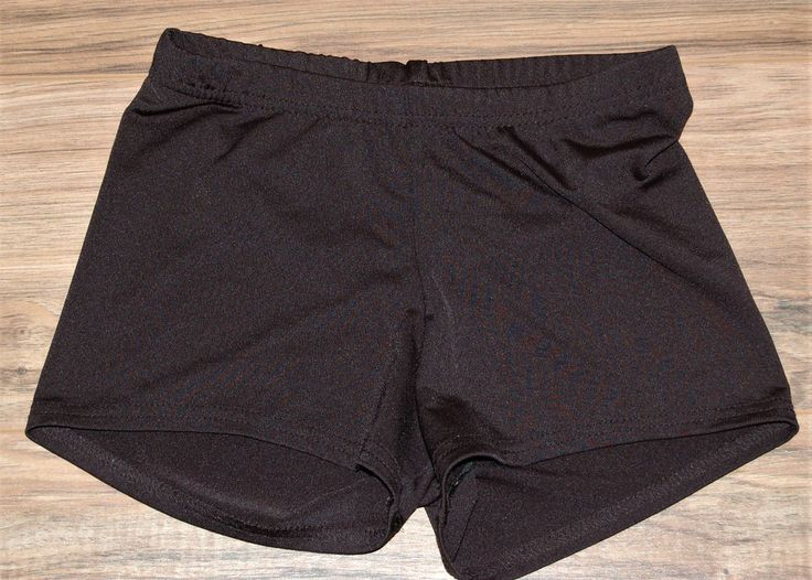 Augusta Sportswear Volleyball Shorts Spandex  Black Womens Ladies Small #AugustaSportswear