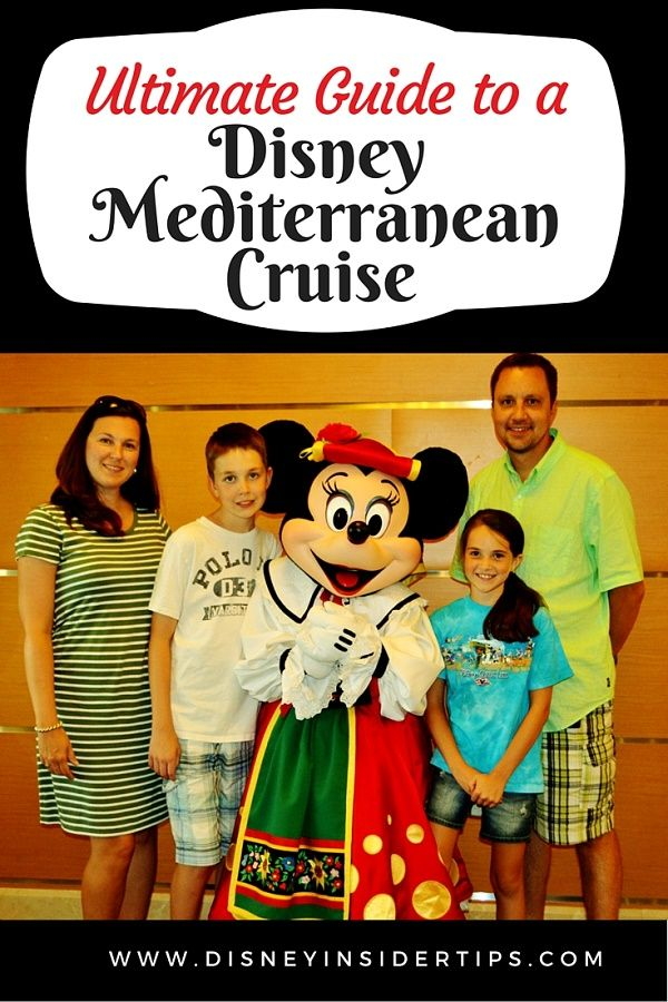 A Disney Mediterranean cruise is a great way to have your family see Southern Europe. Here are tips to help you plan your trip.