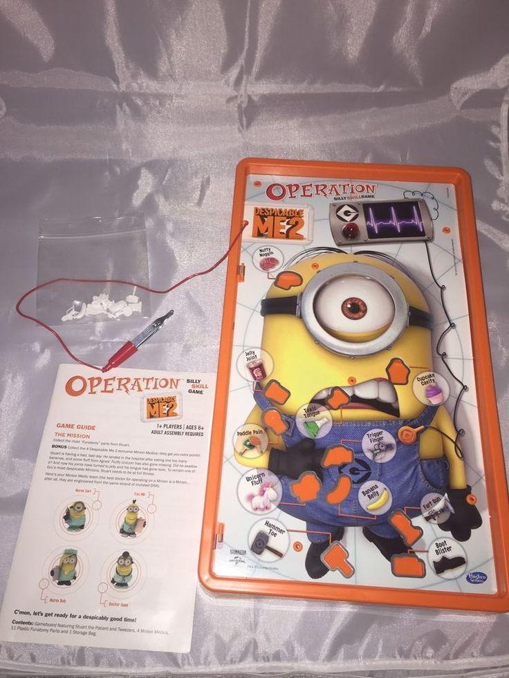 Minion Operation Board Game