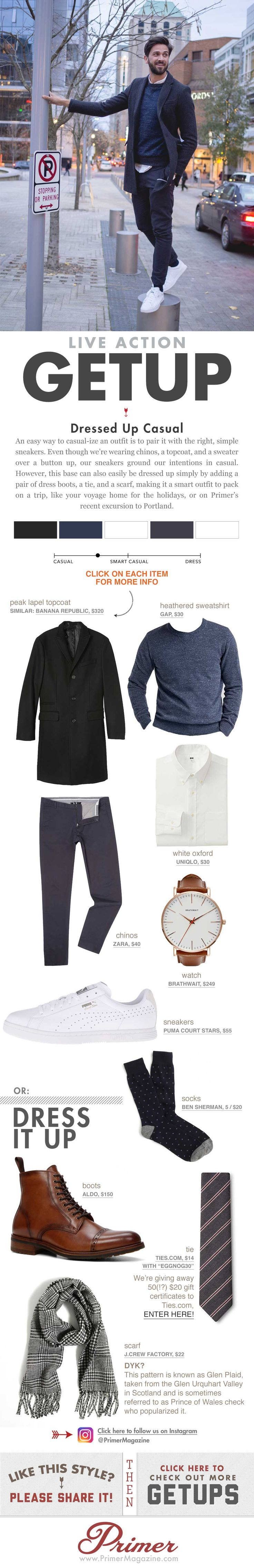 The Getup: Dressed Up Casual