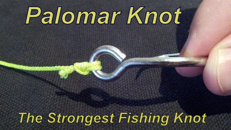 How to tie palomar knot the strongest knot from all for Easiest fishing knot