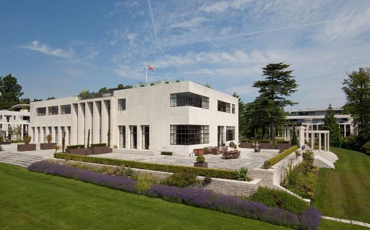 ASCOT, BERKSHIRE Mixing art deco style with modern convenience, this four bedroom-apartment comprises an entire wing of a 1930s Grade II listed country house that once welcomed such famous faces as Winston Churchill and the Duke and Duchess of Windsor. The new owner will be able to enoy a top-notch security system and a 24-hour concierge service.  Guide price: £6.5 million