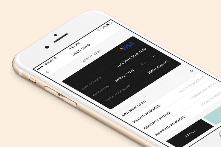 Monobrand iOS UI Kit by Great Simple on Creative Market