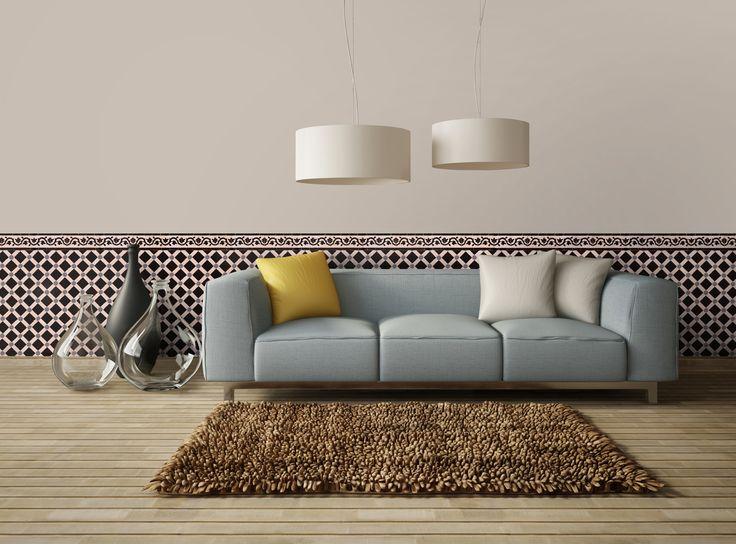 motif paris frise azilal zellige a t manos. Black Bedroom Furniture Sets. Home Design Ideas