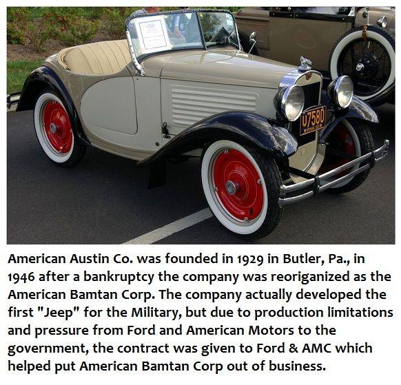 Best American Bantam Crosley Cars Images On Pinterest