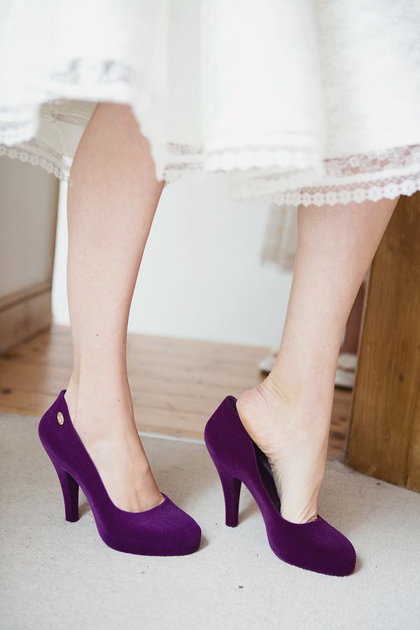 The 25  best Purple shoes ideas on Pinterest | Purple high heels ...
