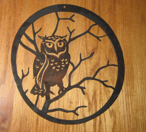 Metal Owl Wall Decor 28 best owls images on pinterest | owls, metal art and owls decor