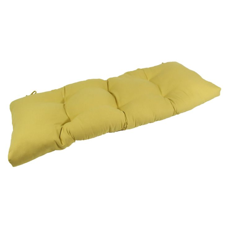 Lava WHS Honey Sunbrella Outdoor Bench/Glider Cushion - LAVA26-0023