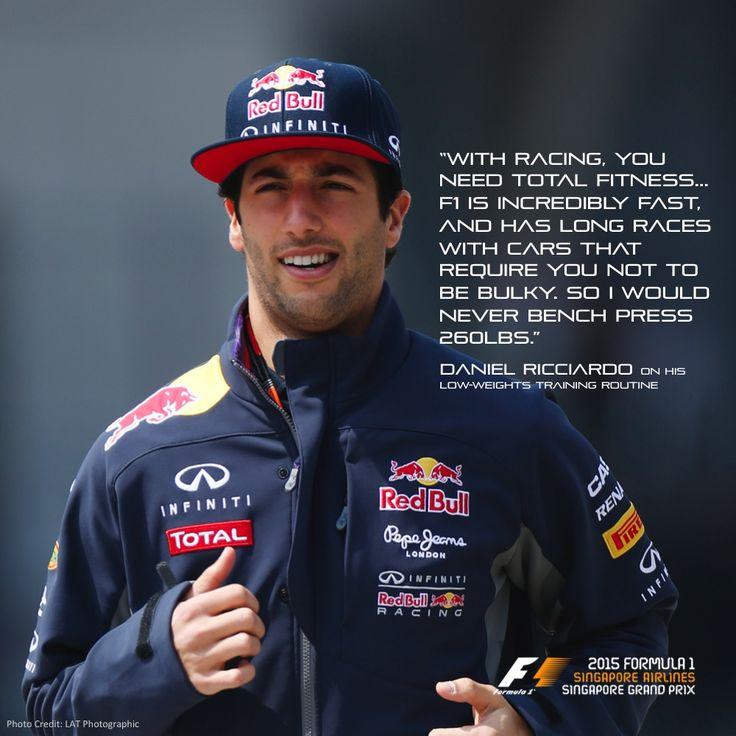 Daniel Ricciardo #Fit4F1