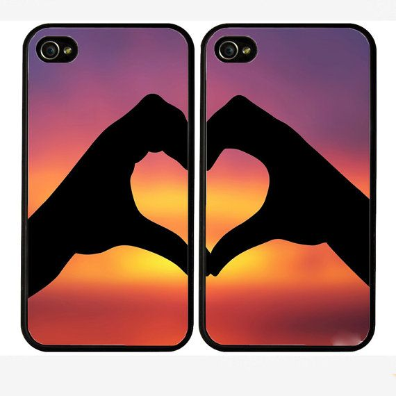 Double cases best friends forever iphone 4 case   by Pocketcase, $29.00