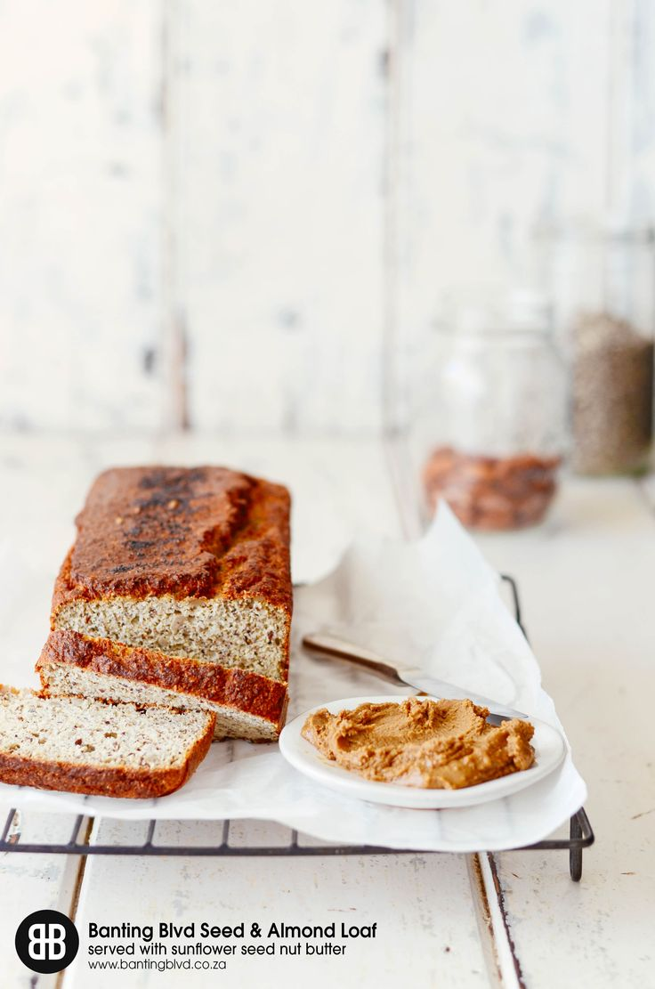 BANTING BLVD Seed and Nut Loaf Premix with sunflower seed nut butter. Recipe: https://www.bantingblvd.co.za/blogs/banting-blvd-blog/50474627-banting-blvd-seed-and-nut-loaf-with-sunflower-seed-nut-butter LCHF. Banting. RMR. Low carb. Healthy eating. Fitspo.