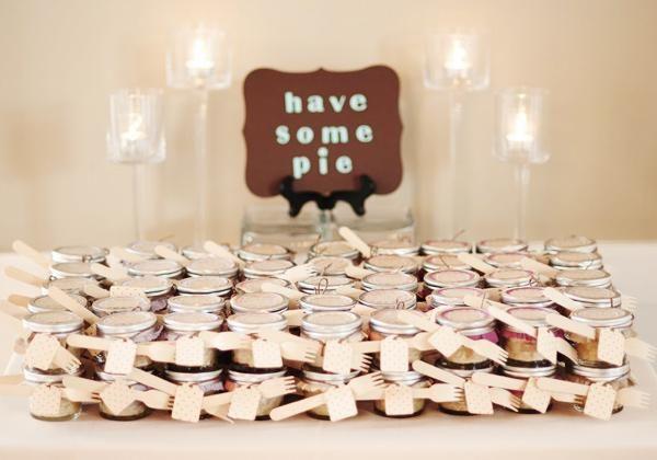 Mini tortas para lembrancinhas de casamento