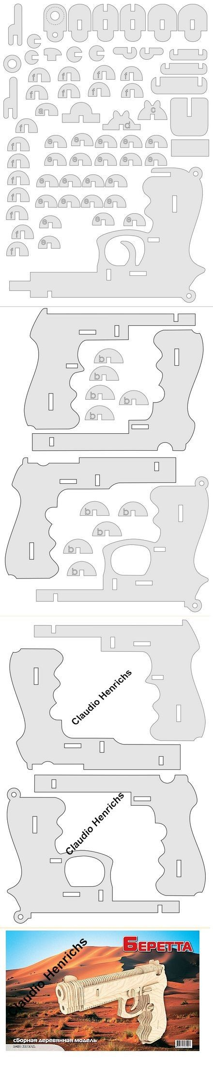 Pistol (With images) Hobbies and crafts, Laser engraving