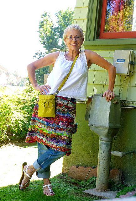 Bohemian layers grandma....