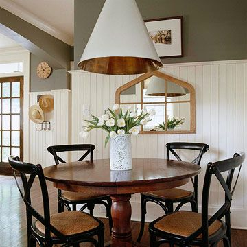 """The warm charcoal color may be a good pick for my kitchen as a backdrop to my """"garden color"""" palette that I always lean towards"""