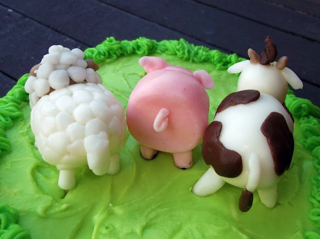 how to make fondant animals farm animals