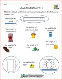 2nd grade math measurements page...this whole site is pretty amazing!