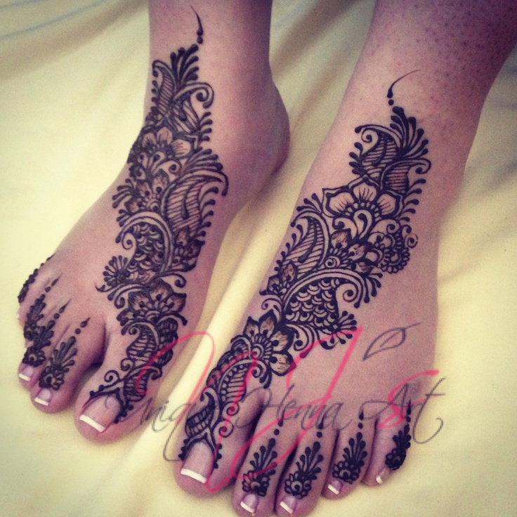 Traditional Indian bridal henna 2013 © NJ's Unique Henna Art | Bridal henna…