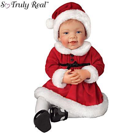 """""""Эвери Первое Рождество"""" Так истинно Real® Baby Girl Doll"""