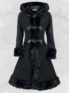 "Manteau Gothique Lolita Poizen Industries (Evil Clothing) ""Minx"""