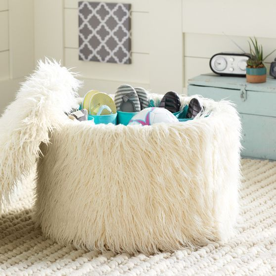Shoe Storage Ottoman Pbteen The Mcqueen Palace