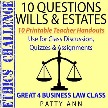 that just and for your to or assignments  copy think  on group will discussion  topic Go Printables  shopstyle to the use bracelets Estates are questions Questions these for  amp  homework  of Handout students off Wills challenge Ready ready     quizzes  Here