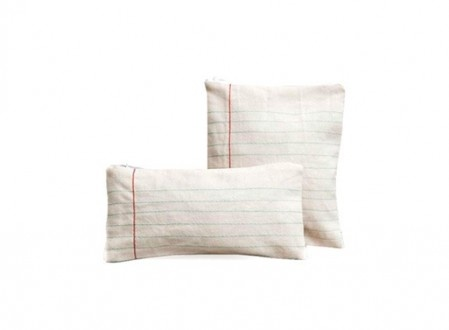 notebook paper pouches