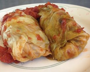 These Vegan Stuffed Cabbage Rolls were an untapped comfort food GOLDMINE. Holy schnikes these were delicious. I am making these again, whenever I can. And they are CHOCK full of veggies. SO GOOD.