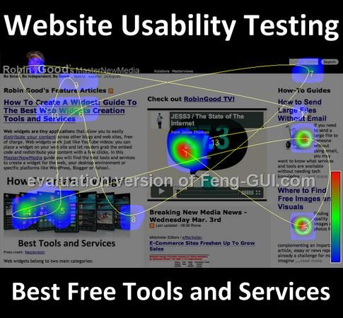 Website usability testing identifies a precise methodology devoted to uncover specific bugs, idiosyncrasies and ambiguities in the way that website design impacts the effective use, legibility, navigation, and user experience of your website. In this MasterNewMedia guide you can find the best free website usability testing tools available out there.        Link: http://www.masternewmedia.org/website-usability-testing-guide-to-the-best-free-tools-and-services/