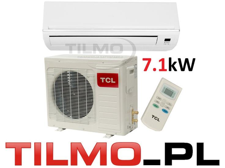 KLIMATYZATOR KLIMATYZACJA SPLIT TCL 7.1 kW Wawa