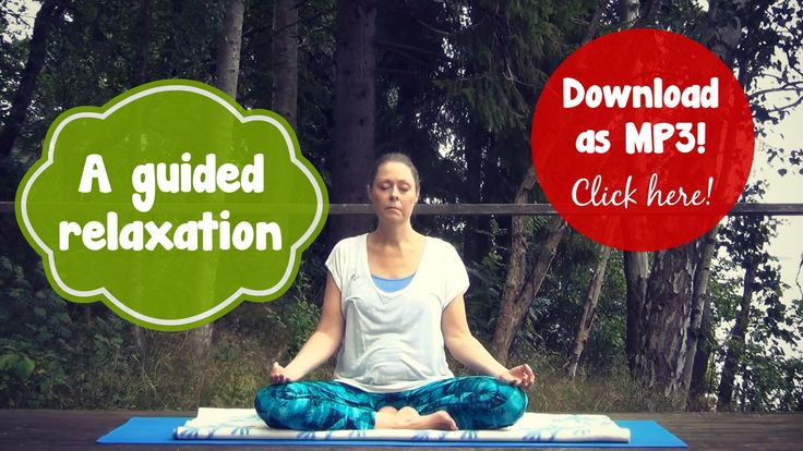 A guided relaxation you can do everywhere! Get the FREE MP3 download here: http://www.endoyoga.com/blog/a-guided-relaxation