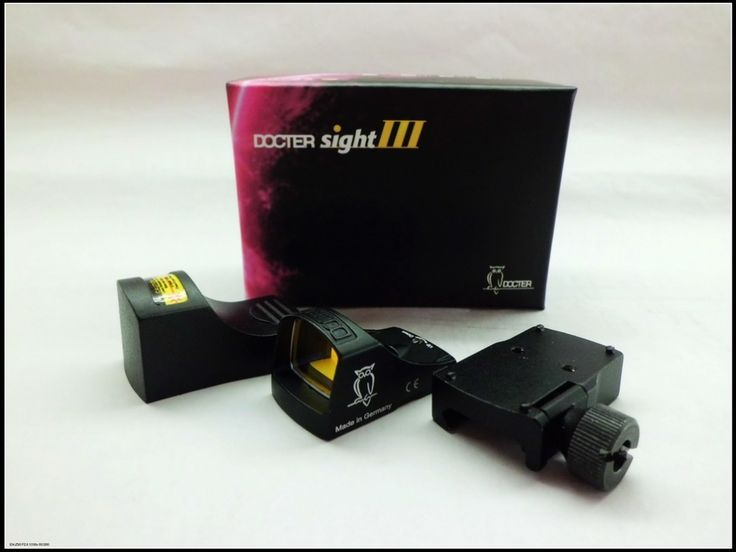Docter Optics Reflex Red Dot Sight III Black hunting shooting tactical Docter III red dot sight with color box packing