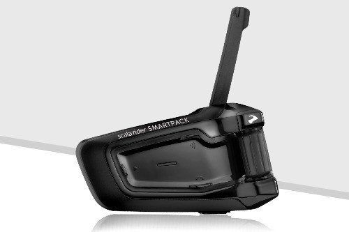 Scala Rider Cardo SmarPack Duo Two Pack – SRSP0102 Motorcycle Bluetooth Communication System