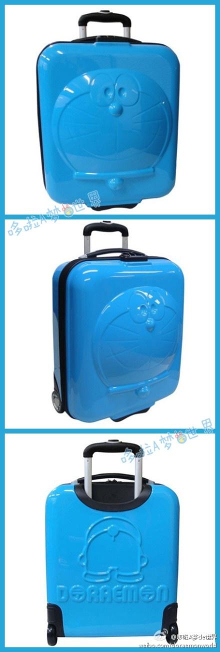 Doraemon suitcases