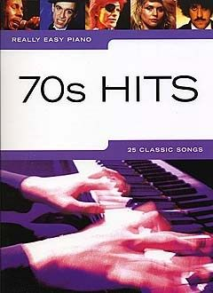 Really Easy Piano: 70s Hits. A collection of 25 fantastic hits from the 70s, including Live and Let Die, You're So Vain and I Will Survive. Arranged for easy piano with song notes and useful hints and tips to help you perfect your performance.